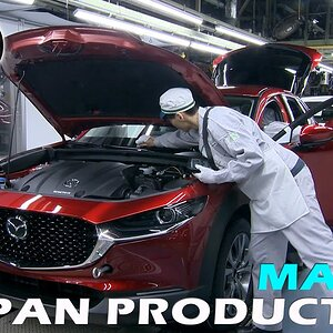 Mazda Production in Japan (Japonya'da Mazda Üretimi)